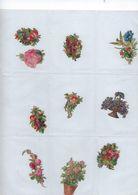 Chromo Decoupis Ancien 10   Fleurs - Fleurs
