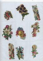 Chromo Decoupis Ancien 9   Fleurs Et Divers - Fleurs