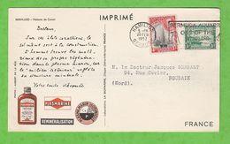 CARTE POSTALE PUBLICITAIRE LABORATOIRE PLASMARINE - BERMUDES - MAISON DE CORAIL - Bermudas