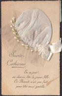 CPA Sainte Catherine En Ce Jour Au Chacun Fête La Jeune Fille, Circulé  1923 - Sainte-Catherine