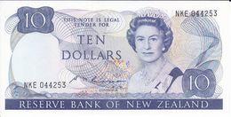 BILLETE DE NUEVA ZELANDA DE 10 DOLLARS DEL AÑO 1981-85 (BIRD-PAJARO) (BANKNOTE) SIN CIRCULAR-UNCIRCULATED - Neuseeland