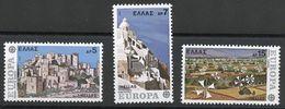 GRECIA 1977 - EUROPA CEPT - YVERT Nº 1242/1244** - Greece