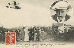 Semaine D'aviation  Ruchonnet  Sur Monoplan Antoinette - Aviateurs