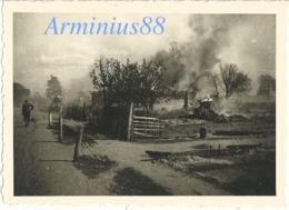 """Front De L'Est - Ostfront - Wehrmacht - """"Brennendes Dorf"""" - Ostfeldzug - Rußlandfeldzug - Guerre, Militaire"""