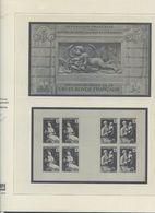 300620/// Pages SAFE POUR LES CARNETS CROIX ROUGE 1952 A 1972... - Stamps