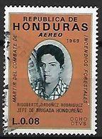 HONDURAS    -     Aéro .   1969    Rigoberto Ordonez Rodriguez - Honduras