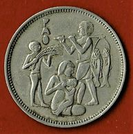 EGYPTE / 10 PIASTRES / 1975 / 1390 A.H. - Egypte