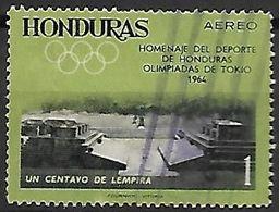 HONDURAS    -     Aéro.     1964.    JO  De  Tokyo - Honduras