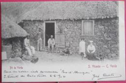 Visuel Pas Très Courant - Cap Vert - Cabo Verde - Pé De Verde - S. Vicente - Jolis Timbres - Très Bon état - Recto Verso - Cap Vert
