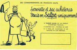 Buvard Serivette Et Sac  Salpa - Vloeipapier