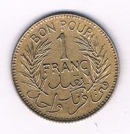 1 FRANC 1945 TUNESIE /5152/ - Tunisia