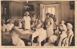 BESANCON.- Maison Maternelle Départementale De CHATEAUFARINE. La Consultation Médicale. CLB. Bon état. - Besancon