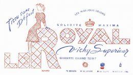 Buvard Stissu Sans Défaut  Le Royal Vichy Supérieur - Vestiario & Tessile