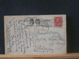 88/486 CP CANADA 1920 POUR LA BELG. - 1911-1935 Reign Of George V