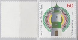 PHARE - LIGHTHOUSE - LEUCHTTURME - PHAROS Schleimünde - Autocollant - Self Adhesive - Selbstklebend - Lighthouses