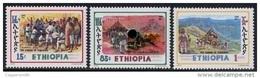 (336) Ethiopia / Ethiopie  History / Gun / Cannon / 1991  ** / Mnh  Michel 1398-1400 - Ethiopie