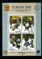 GREAT BRITAIN - 1980  EUROPA YEAR OF THE CHILD SOUVENIR MINIATURE SHEET  MINT NH - Cinderella