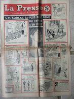 Journal La Presse Magazine N°475 (14/20 Déc 1954) J Gréco - Soraya - Roger Closset - 1950 à Nos Jours