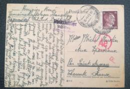 POSTKARTE 1944 - GEMEINSCHAFTSLAGER Hanselberg JÄGERNDORF - Ae - To France - Duitsland