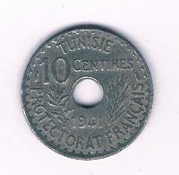 10 CENTIMES 1941 TUNESIE /5156/ - Tunisia
