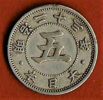 JAPON / 5 SEN / 1890 / TTB+ - Japan