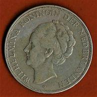 PAYS BAS / WILHELMINA / 2 1/2 GULDEN / 1929 / ETAT SUP. - 2 1/2 Gulden