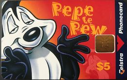 AUSTRALIE  -  Phonecard  -  TELSTRA  -  Pepe Le Pew  -  $ 5 - Australie