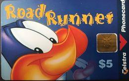 AUSTRALIE  -  Phonecard  -  TELSTRA  -  Road Runner  -  $ 5 - Australie