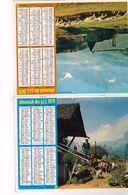 Almanach Des PTT  Moutons Haute-Aples Chèvres Isère - Hauts De Seine Seine St-Denis Val De Marne Pareis - Calendars