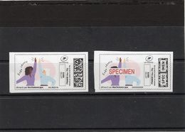 France, Covid 19,coronavirus,timbre Et Spécimen. Stamp And Specimen. - Unclassified