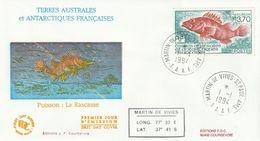Terres Australes Et Antarctiques Françaises    1994  Poisson La Rascasse - FDC