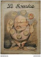 1900 Journal LE SOURIRE  - L'ECOLE DES JOURNALISTES - LE CARROUSEL - Dessin De CADEL - Livres, BD, Revues