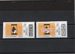 France, Covid 19,coronavirus,timbre Et Spécimen. Stamp And Specimen. Neufs - Unclassified