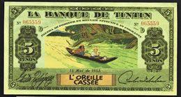 "Billet Fictif 5 Pesos "" TINTIN L'oreille Cassée "" Neuf - Specimen"