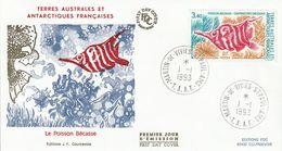 Terres Australes Et Antarctiques Françaises    1993   Poissons Bécasse - FDC