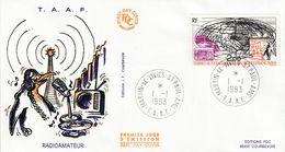 Terres Australes Et Antarctiques Françaises    1993 Radiomateeur - FDC