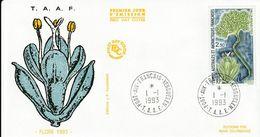 Terres Australes Et Antarctiques Françaises    1993 La Flore - FDC
