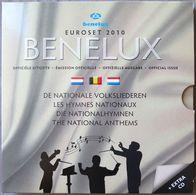 BNX2010.1 - COFFRET BENELUX - 2010 -  1 Cent à 2 Euros Belgique / Pays-Bas / Luxembourg + Médaille + CD - Bélgica