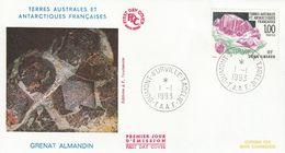 Terres Australes Et Antarctiques Françaises    1993  Minéral Grenat Almandin - FDC