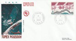Terres Australes Et Antarctiques Françaises    1992 Topex Poseidon - FDC