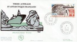 Terres Australes Et Antarctiques Françaises    1992  Programme Woce - FDC