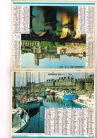 Almanach Des PTT  Port De Plaisance De St-Malo - 75 Paris 91 92  93  94 95 78 - 1975 - Calendars