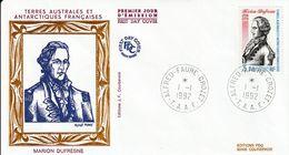 Terres Australes Et Antarctiques Françaises    1992   Marion Dufresne - FDC