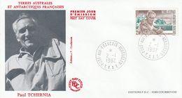 Terres Australes Et Antarctiques Françaises    1992   Paul Tchernia - FDC