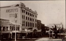 Cp Durban Südafrika, West Street, Central, Anstey's Store, Straßenbahn - Afrique Du Sud