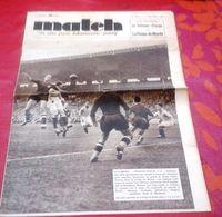 Match L'Intran N°630 Juin 1938 Coupe Du Monde Football France Italie,Bresil Hongrie,Cyclisme Critérium Europe Schulte - Sport