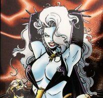 Fantaisie Erotique BD COMICS Erotic Fantasy  LADY DEATH Science Fiction Sexe Diable Demon Crane Squelette Devil - Trading Cards