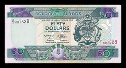 Islas Salomon Solomon 50 Dollars 1996 Pick 22 Sign 6 SC UNC - Salomons