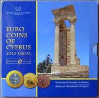 CHX2015.1 - COFFRET BU CHYPRE - 2015 - 1 Cent à 2 Euros - Chipre