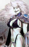 Fantaisie Erotique BD COMICS Erotic Fantasy  LADY DEATH Science Fiction Sexe Diable Demon Crane épée Devil Sword - Trading Cards
